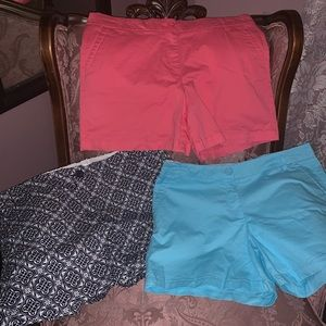 BNWOT 3 pairs of shorts